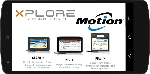 Motion Computing Tablets